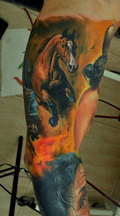 Tattoos - Arabian Horse - 63837